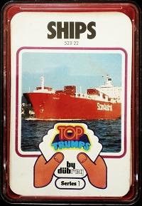 1970s Top Trumps Series 1 - Ships