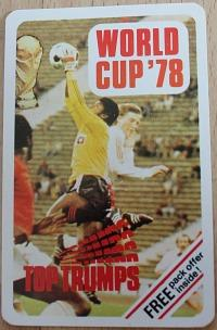 Top Trumps card game - World Cup '78