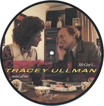 Tracey Ullman and Neil Kinnock - limited edition picture disc for