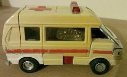 1980s Transformers G1 Ratchet Action Van