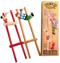 Traditional Wooden Trapeze Toy