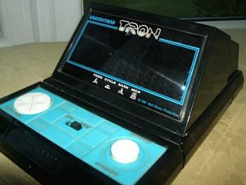 Grandstand Tron tabletop video game (1982)