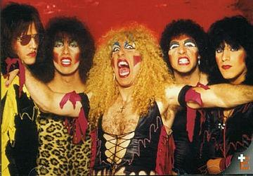 80s hair metal band Twisted Sister