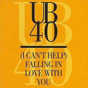 UB40 - (I Can't Help) Falling In Love With You - single sleeve (1993)