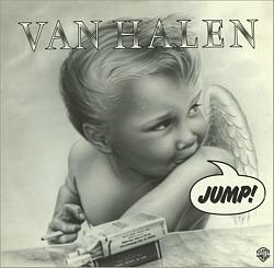Van Halen - Jump! (1983) single ft. a smoking cherub