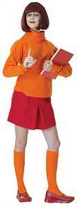 Velma Fancy Dress Costume - Scooby Doo