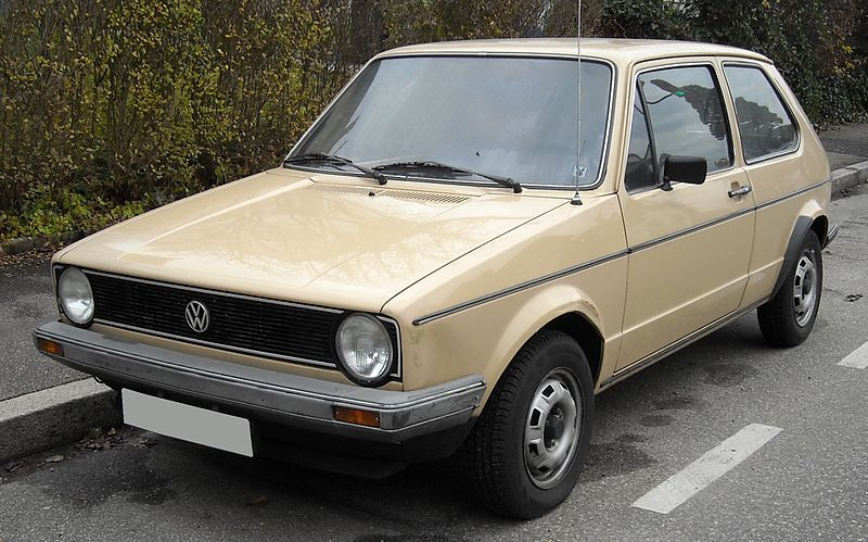 Volkswagon VW Golf Mk1 Cream