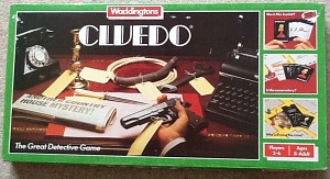 1970s Cluedo Game by Waddingtons