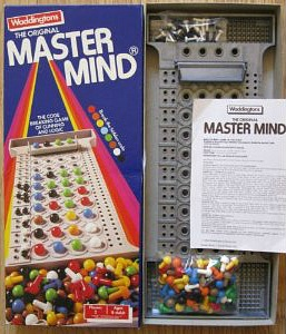 Waddington's Mastermind Game from 1984