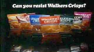 Can you resist Walkers Crisps? Advert