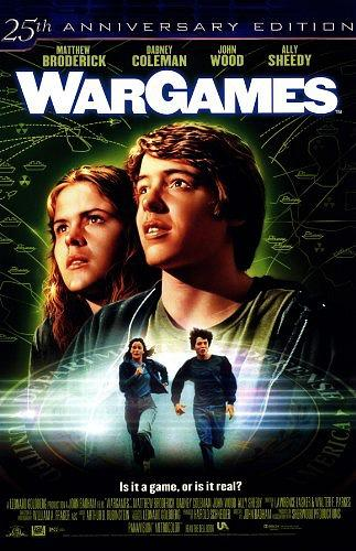 WarGames movie poster - 25th anniversary edition