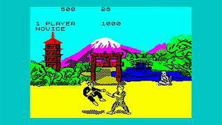 Way Of The Exploding Fist - ZX Spectrum