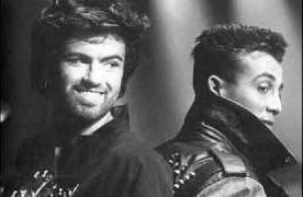 George Michael and Andrew Ridgely - Wham!