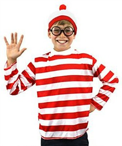 Whereu0027s Wally Costume for Boys  sc 1 st  Simply Eighties & 80s and Retro Costume Ideas for Boys at SimplyEighties.com