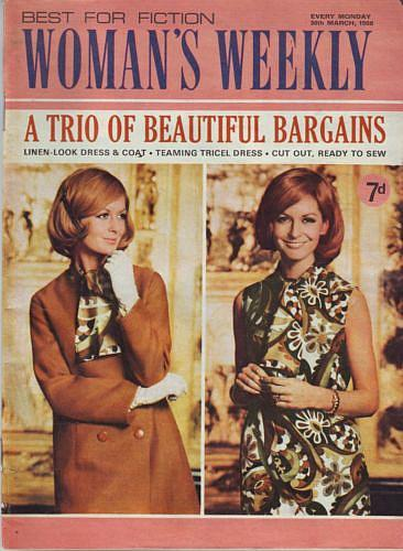 1960s Woman's Weekly magazine - March 1968