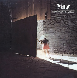 Yaz - Don't Go Remixes - U.S. Vinyl Sleeve