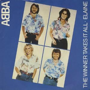 ABBA - The Winner Takes It All (vinyl 7