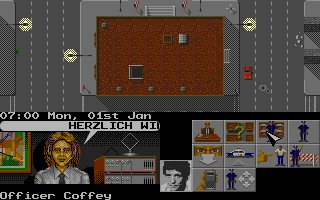 Hill Street Blues computer game screenshot