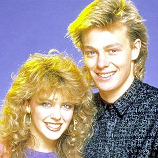 Kylie and Jason in the 80s