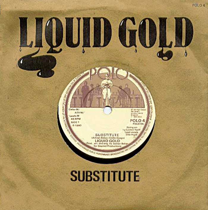 Liquid Gold - Substitute vinyl sleeve