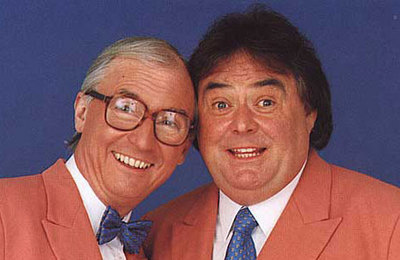 Syd Little and Eddie Large in the 80s