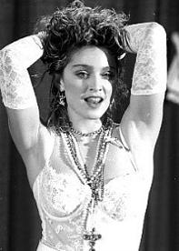 Madonna Like A Virgin 80s
