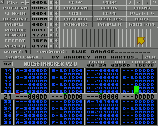 Noisetracker Amiga Tracker