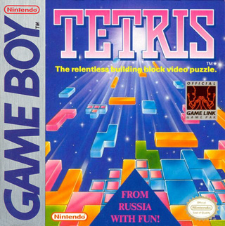Tetris Gameboy inlay card