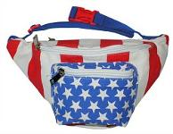 x80 Stars and Stripes American Flag Fanny Pack